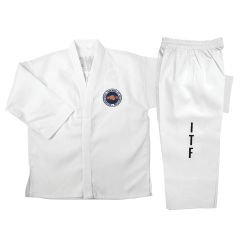 Dynamics ITF White Taekwondo Uniform