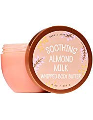 Bath Soothing Milk (Bath and Body Works Soothing Almond Milk Whipped Body Butter 8 Ounce)