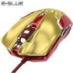 E-3LUE Iron Man 3 Mouse Gaming Mouse USB Mouse Wired Mouse for Notebook Computer