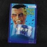 Halloween Props Latex Scary Horrible Make-Up Teeth (3pcs/Set)