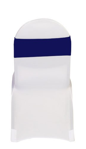 Amazon Com Your Chair Covers Stretch Spandex Bands Navy Blue