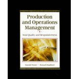 Production and Operations Management : Total Quality and Responsiveness, Noori, Hamid and Radford, Russell, 0079120377