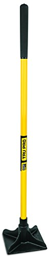 Truper 34387 8-Inch X 8-Inch Tamper, Long Steel Handle, 48-Inch