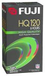 Fuji 3-Pack 120-Minute VHS Tapes (HQT1203PK)