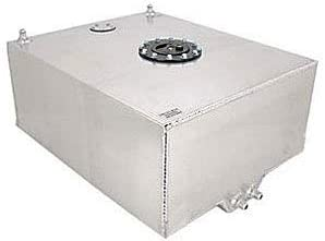 """JEGS Fuel Cell   20 Gallons   24"""" long x 20"""" wide x 10"""" high   Made In USA   Includes 0-90 Ohm Sender, Two -8 AN Male Outlets, One -8 AN Male Return, & One -8 AN Rollover Valve Fitting"""