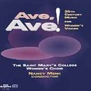 Ave, Ave!: 20th Century Music for Women's Voices