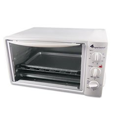 ** Multi-Function Toaster Oven with Multi-Use Pan, 15 x 10 x 8, White **