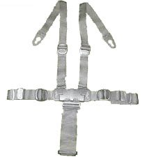 Peg Perego Prima Pappa Best and/or Diner Highchair Replacement Straps Harness Grey