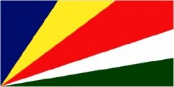 Novelties Direct Seychelles Flag 5ft x 3ft (100% Polyester) With Eyelets For Hanging Worldwide
