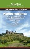 Carpathian Basin Road Atlas (Karpat-medence) Topograf