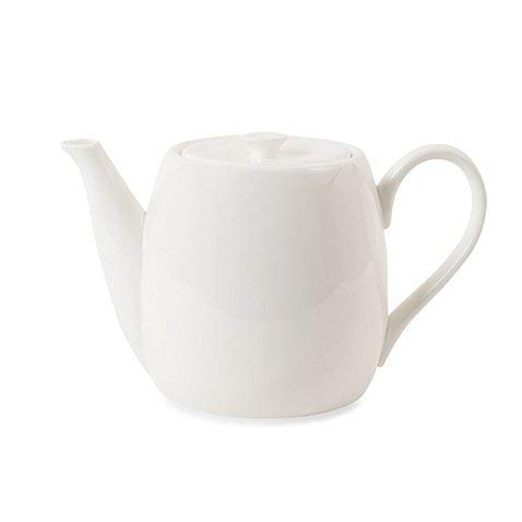 Teapot Classic Lines Create A Modern Tablescape 56 oz Made of Bone china (China With Lid Teapot)
