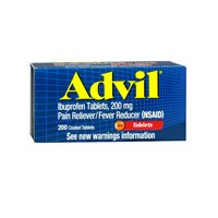 Advil Advil Advanced Medicine For Pain, 160 Liqui Gels 200 m