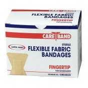 Aso Adhesive - Fingertip Bandages, Ventilation Holes, Fabric, Adhesive, 100/BX (AGPCBD4025) Category: Bandages and Dressings