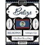 World Collection Belize Cardstock Stickers Scrapbook Customs Discover