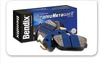 Bendix MKD407IQ TitaniuMetallic2 Disc Brake Pad Set