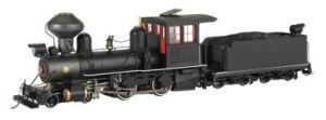 On30 Spectrum 4-4-0 w/DCC, Black/Red/White by Bachmann Tr...