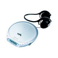 Digital Mega Bass Portable CD Player w/ Skip-Free G-Protection & Street Style Headphones by Sony