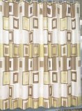 Carnation Home Fashions Contempo Shower Curtain
