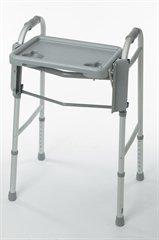 Guardian Walker Tray - Guardian Folding Flip Tray for Walker Gray Plastic [Health and Beauty]