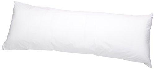 AmazonBasics Hypoallergenic Pillow Protector White