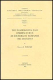 The Diatessaron and Ephrem Syrus as Sources of Romanos the Melodist. Subs. 74. (Corpus Scriptorum Christianorum Orientalium)