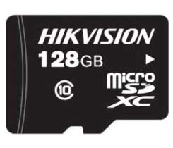 Hikvision Digital Technology HS-TF-L2I/128G mémoire flash 128 Go MicroSDXC Classe 10 NAND