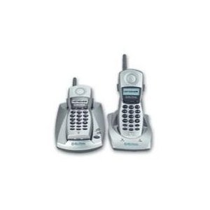 Northwestern Bell 36582 Digital Spread Spectrum 2.4 GHz Cordless Telephone System with 2 Handsets and Caller ID, Silver ()