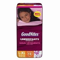 Goodnites Underpants Girl - 4 Pack