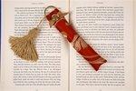 Elegant Book Weight-Ruby (Bookmarks Design Damask)