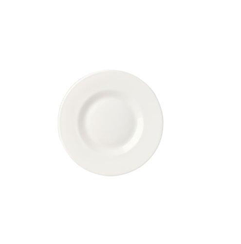 Bormioli Rocco Venere Bread Plates, White, Set of 24