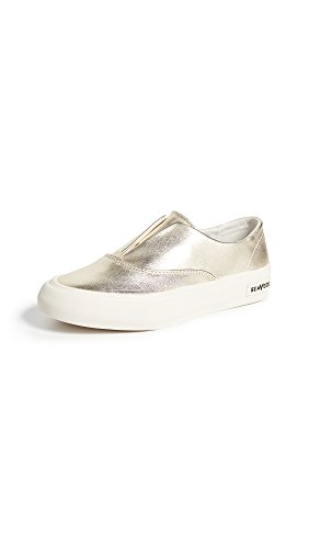 SeaVees Womens Sunset Strip Sneakers Gold