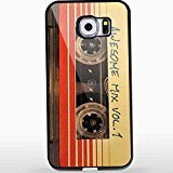 Guardians of the Galaxy - Awesome Mix Tape Vol 1 for Iphone and Samsung Galaxy Case (Samsung Galaxy S6 black) (Canada Customs Duties And Taxes On Imports)