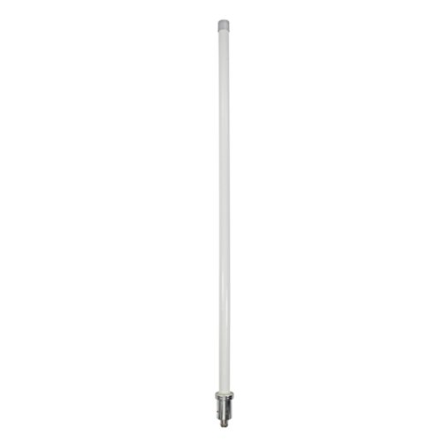 SureCall Dual Band Omni-Directional 50 Ω Outdoor Antenna with N-female Connector (Long) - White by SureCall