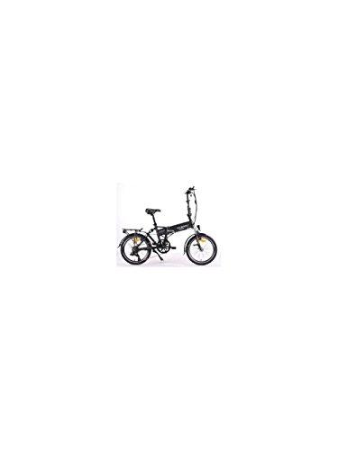 Elektrofaltrad OVERFLY G6 Elektrofahrrad E-Bike Klapprad City Bike (Weiß)