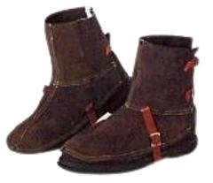 Rawhyde Frontier 5 Inch Leather Spats - 88267
