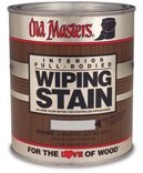 Mahogany Red Stain Wood - OLD MASTERS 11404 Wip Stain, Red Mahogany