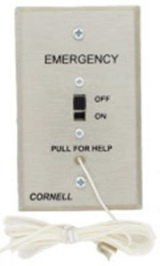 114 Pull (Cornell E-114 Pull Cord Station - Auxiliary Contacts 4 Pigtail)