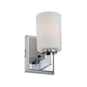 (Quoizel TY8601C Taylor Bath Wall Sconce Lighting, 1-Light, 100 Watt, Polished Chrome (8