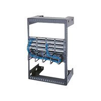 Wall Mount Open Frame Rack Rack Spaces: 26 1/4