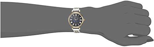 Anne Klein Women's AK/2159NVTT Two-Tone Bracelet Watch