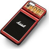 Micro amplificador Marshall series Rojo Mini para iPhone 6 y iPhone 6s Caso