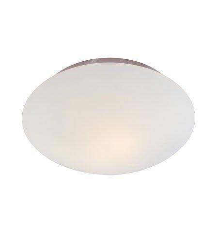 - Sonneman 4154.13, Mushroom Round Tall Flush Mount Ceiling Lighting, 2 Light, Satin Nickel