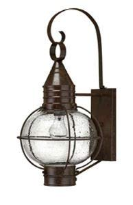 Hinkley Lighting Cape - Hinkley 2204SZ Rustic One Light Wall Mount from Cape Cod collection in Bronze/Darkfinish,