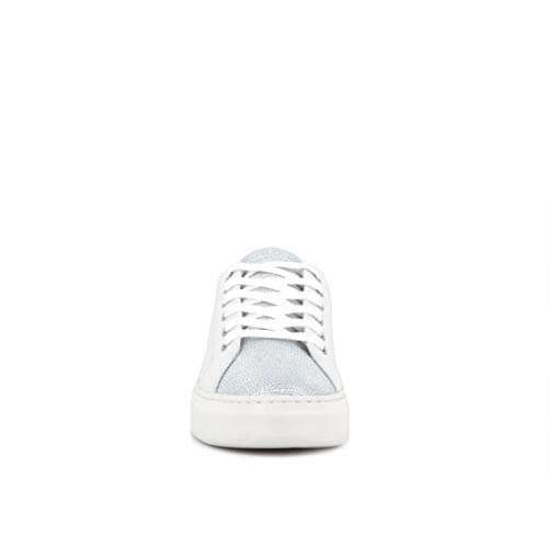 Sneakers 25605pp1 London Basses white Blanc Femme Crime 10 Owq1xSE1c