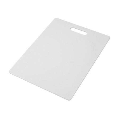 Farberware Nonslip Plastic Cutting Board, 11-Inch-by-14-Inch, White by Farberware