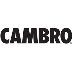 Cambro (CP15110) 1-1/2 qt Solid Color Plastic Crock w/Lid [Case of 6] by Cambro