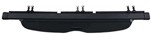 Cargo Cover Retractable Black for 07-11 Honda Crv by Kaungka