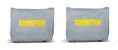 Champion Weather-Resistant Storage Cover for 3100-Watt or Higher Inverter Generators (2)