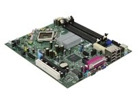 (Genuine Dell PU052 MotherBoard For Dell Intel Q35 Express w/ ICH9D0 Socket Optiplex 755 Small Form Factor (SFF))