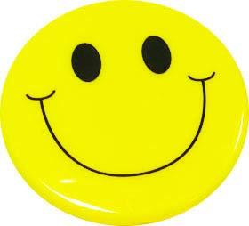 (Ashley Prod. Smile Face Magnetic Whiteboard Eraser)